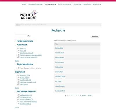 Projet Arcadie Couleur région