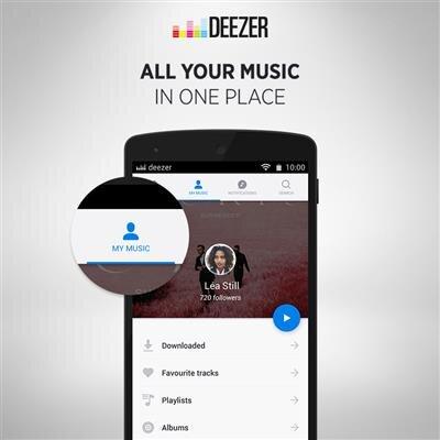 Deezer Android