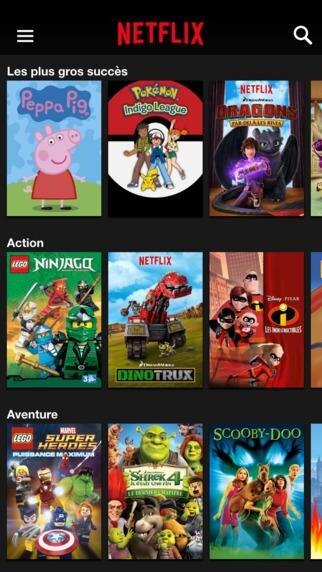 Netflix Kids iOS