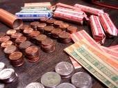 Argent dollars euros cash