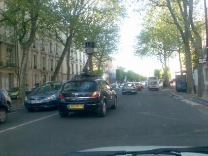 versailles google car google street view