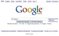 Google page d'accueil PCINpact