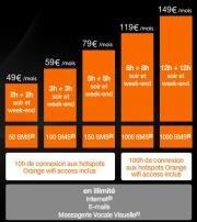 iPhone 3G Orange forfaits