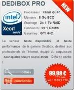 Dedibox PRO Iliad Free Xeon