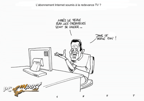 Operateurs triple pay redevance TV