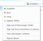 windows live hotmail messenger
