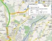 google maps  infotrafic trafic routier temps réel
