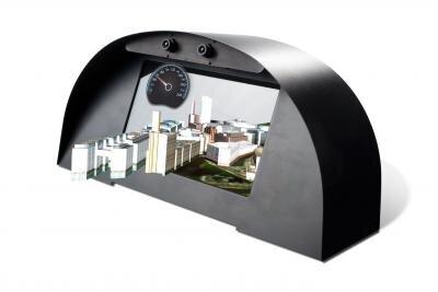 tableau de bord Fraunhofer 3D