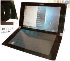 ASUS Dual Panel Concept tactile