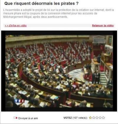 députés vote projet création internet