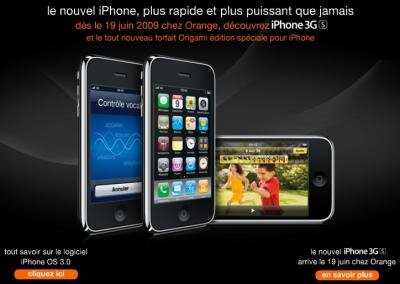 iPhone 3GS Orange