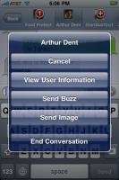 Trillian astra iphone