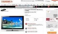 3 Suisses Samsung TV