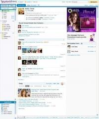 Yahoo Mail homepage