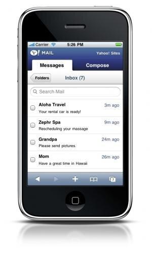 Yahoo Mail iPhone