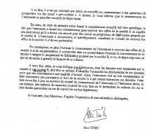 CNIL lettre alex turk base mutalisée