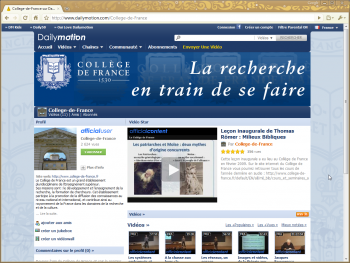 college france dailymotion