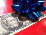 dollars cadeau noel