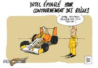 Intel Tricherie dessin