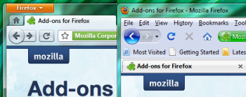 firefox concept interface