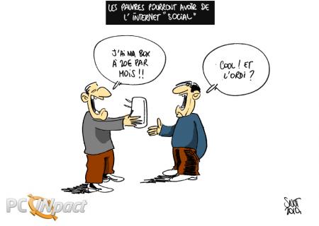 france abonnement social internet