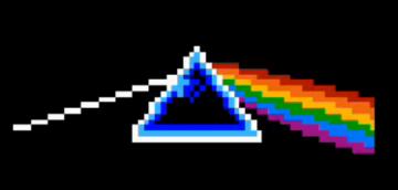moon8 dark side of the moon pink floyd NES 8-BIT