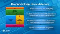 Intel IDF 2010 Day 1 Sandy Bridge