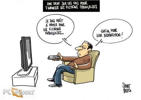 taxe fiction française cosip FAI chiffre d'affaires