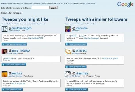 Follow Finder Twitter