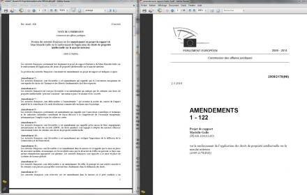 rapport gallo amendements france acta hadopi
