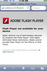adobe apple ihone flash