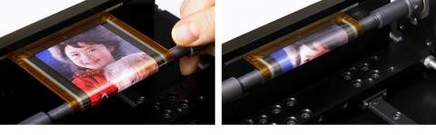 Ecran souple flexible OLED OTFT Sony