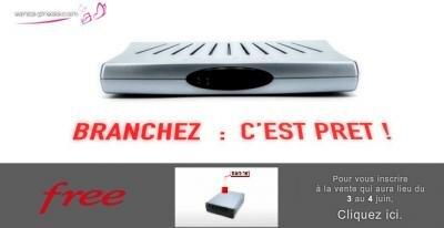 Free Freebox HD Vente Privee