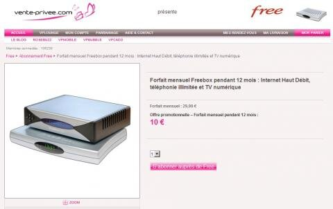 Free Vente Privee