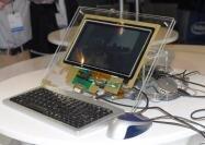 Computex 2010 Intel Stand Moorestown