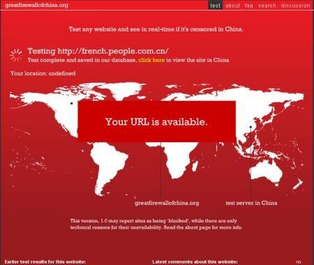 chine filtrage great firewall
