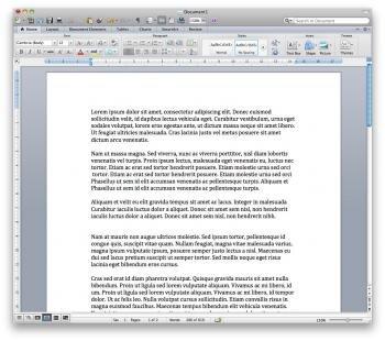 word office 2011