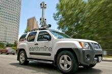 mappy car urbandive street view earthmine