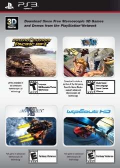 PS3 jeux 3D