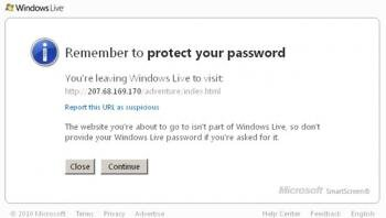 windows live smartscreen