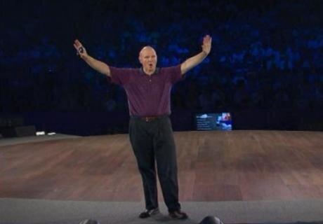 Steve Ballmer WPC 2010
