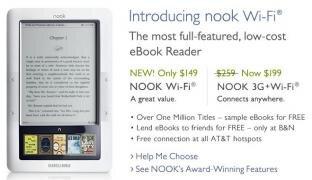 Nook Barnes Noble WiFi