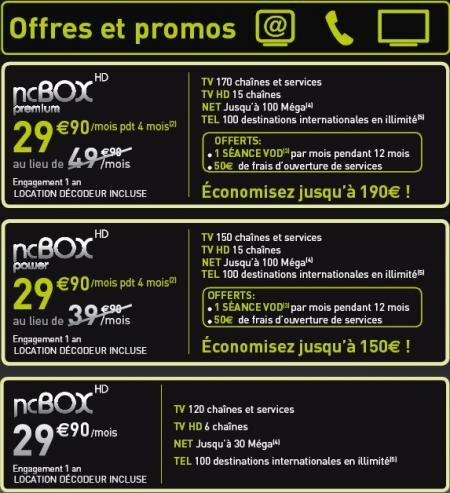 Numericable NCBox Premium Power