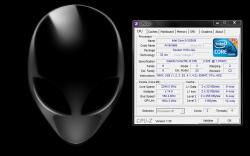 Alienware M11x Screenshot CPU overclocke