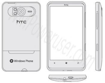 htc windows phone 7 hd7 trophy