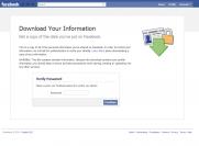 Facebook recuperer donnees prives photos