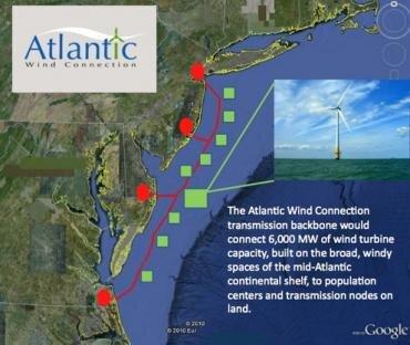 Google AWC parc eolien