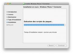 windows phone synchro mac osx