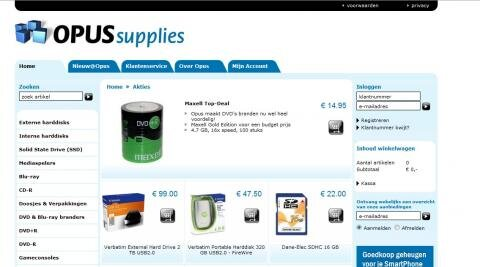 opus supplies copie privée supports vierges