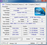 LDLC ordinateur portable CPU-Z Intel core i3 350M